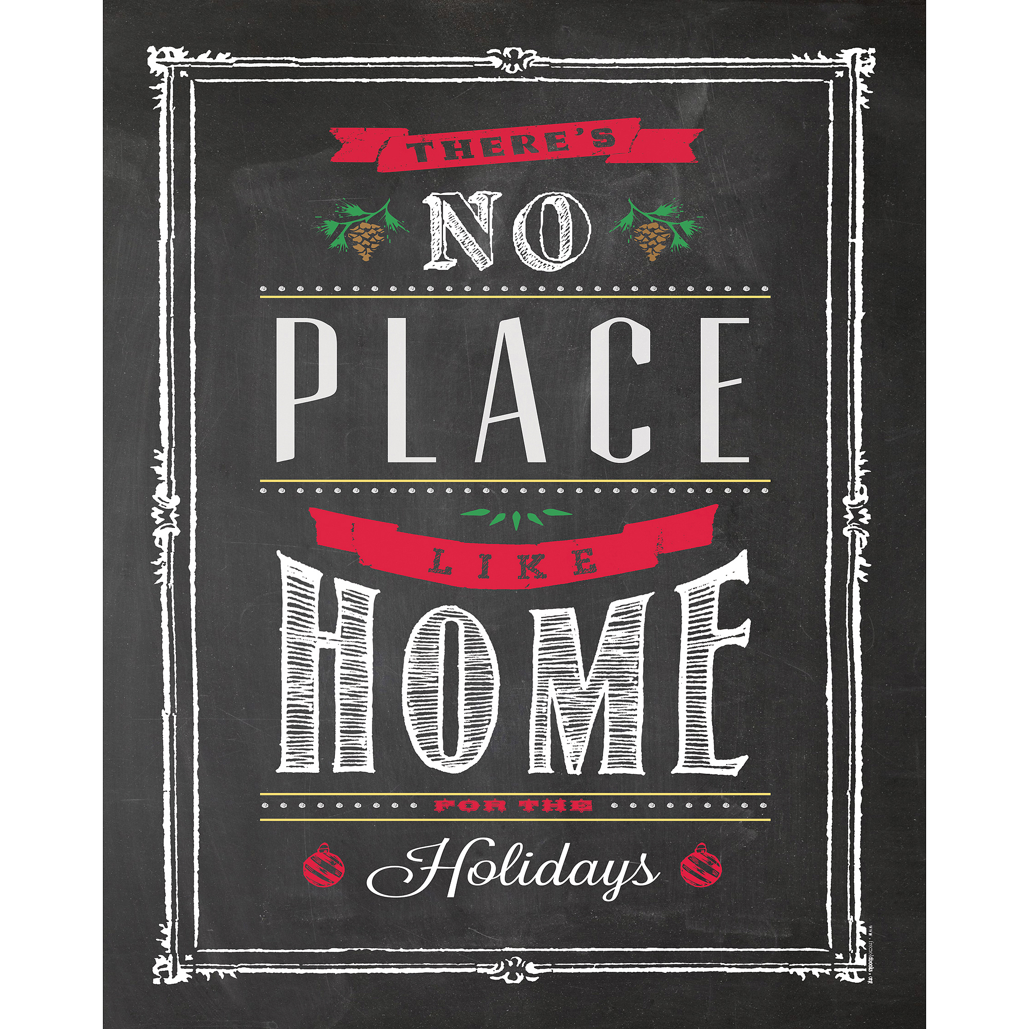 "Home for the Holidays 11"" x 14"" Wall Art"