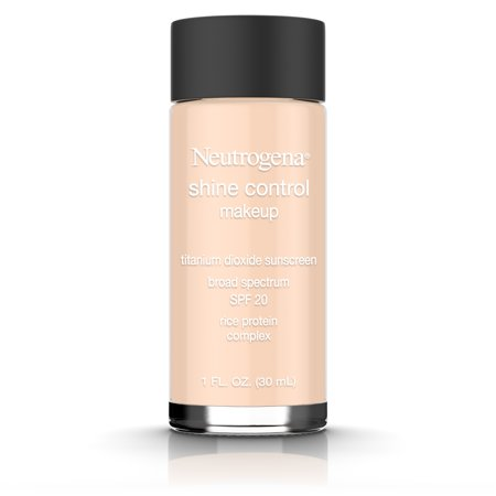 Double Matte Oil Control Makeup - Neutrogena Shine Control Liquid Makeup Broad Spectrum Spf 20, Nude 40, 1 Oz.