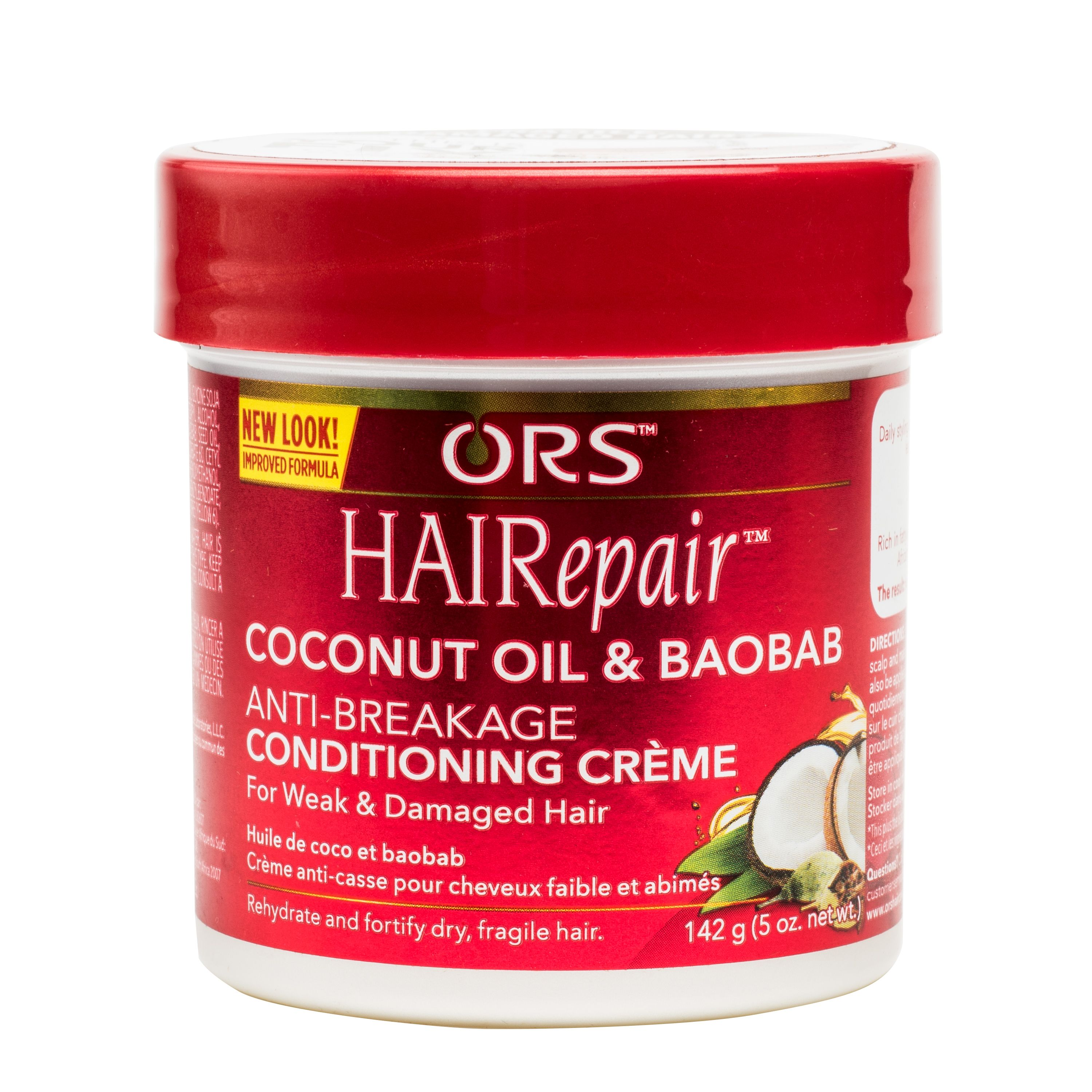ORS HAIRepair Coconut Oil & Baobab Anti-Breakage Conditioning Crème 5 oz