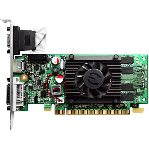 EVGA GeForce 210 1GB DDR3 PCI Express 2.0 Graphics Card