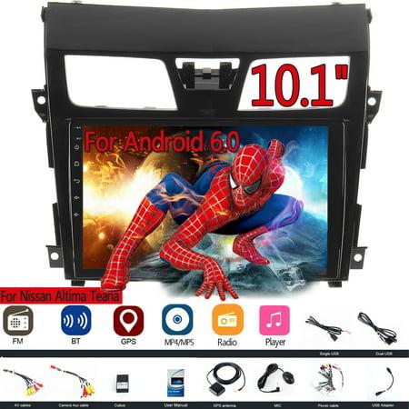 10.1'' Android 6.0 Car Stereo Radio Player GPS For Nissan Altima Teana 13-15 (2007 Nissan Altima Radio)