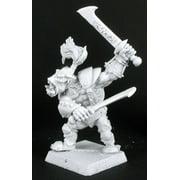 Reaper Miniatures Gaaguk, Bull Orc,Reven Hero #14201 Warlord Unpainted D&D Mini