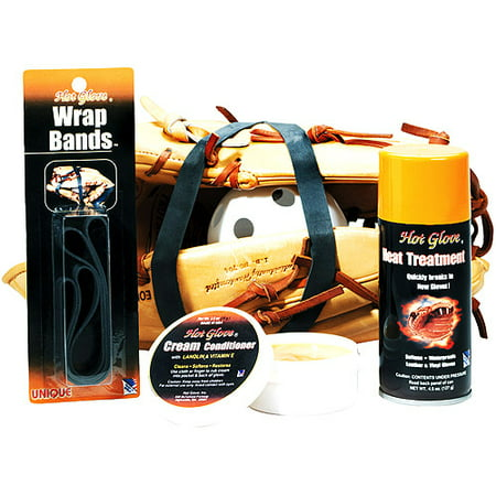 Unique Hot Glove - Glove Break-In Kit Value Bundle Baseball Glove Conditioning Oil
