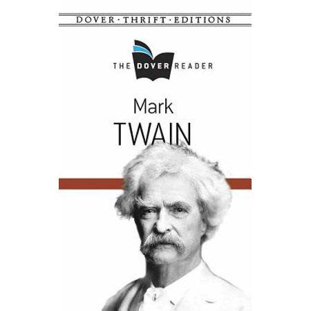 Mark Twain the Dover Reader (Mark Twain Wig)