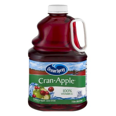 Ocean Spray Juice, Cran-Apple, 101.4 Fl Oz, 1 Count