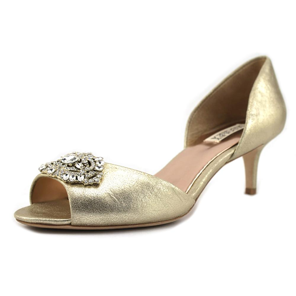 Badgley Mischka Gascade II Open Toe Canvas Sandals by Badgley Mischka