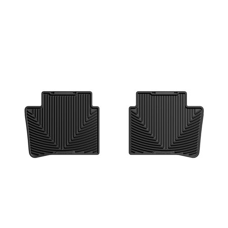 Weathertech 07 Nissan Versa Rear Rubber Mats Black