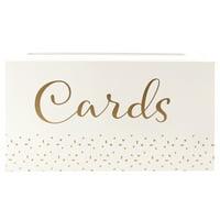 Take A Vow Wedding Cards Box, 1 Each