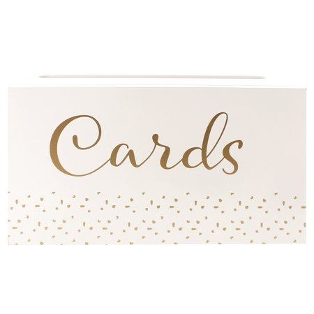 Take A Vow Wedding Cards Box, 1 Each