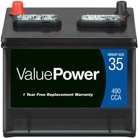 ValuePower Lead Acid Automotive Battery, Group 35