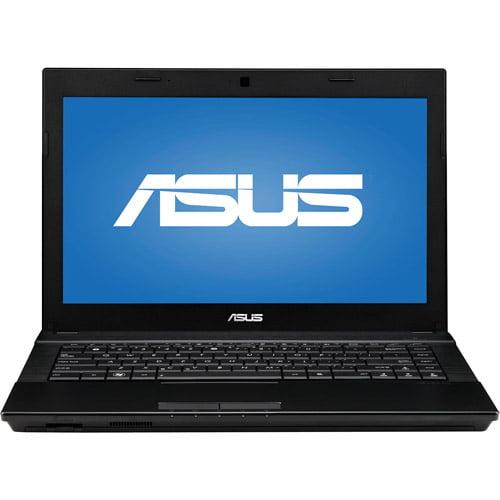 "ASUS Black 14.1"" Pro P Series P43E-XH51 Laptop PC with Intel Dual-Core i5-2430M Processor and Windows 7 Professional"