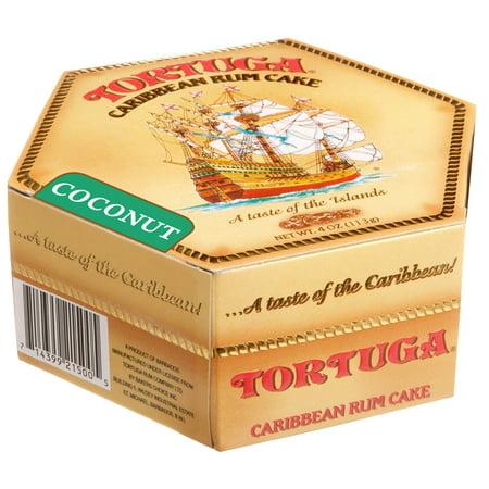 Tortuga Caribbean Rum Cake 4 oz Coconut Flavor FREE (Rum Cake Glaze)