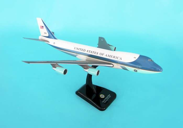 Hogan Air Force One B747-200 1:200 Scale Model Airplane by Hogan