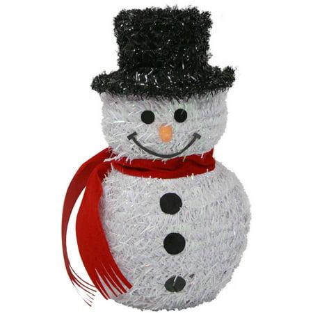 holiday time   snowman wreath  black top hat walmartcom