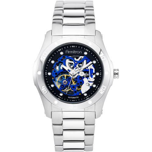 Men's Armitron Round Casual Watch, Black
