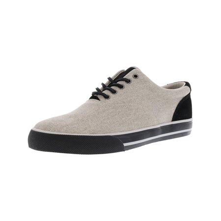 Falke Cotton Sneakers (Polo Ralph Lauren Men's Vaughn-Sk-Vlc Open Weave Cotton Grey Fashion Sneaker - 9.5M)