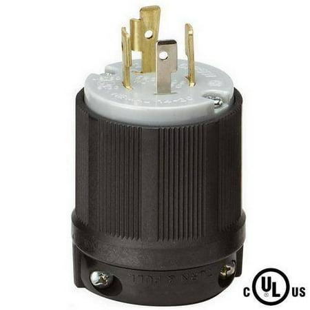 NEMA L14-20 20 Amp 125/250V 3 Pole 4 Wire Ground