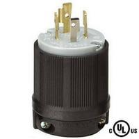NEMA L14-20 20 Amp 125/250V 3 Pole 4 Wire Ground Plug