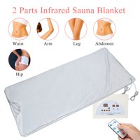 Ccdes Portable Far Infrared Heat Sauna Blanket for Body Shape Slimming and Detox Therapy Home Beauty