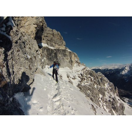 Canvas Print Backcountry Skiiing Ski Snow Adventure Alpine Stretched Canvas 10 x 14 Alpine Ski Snow