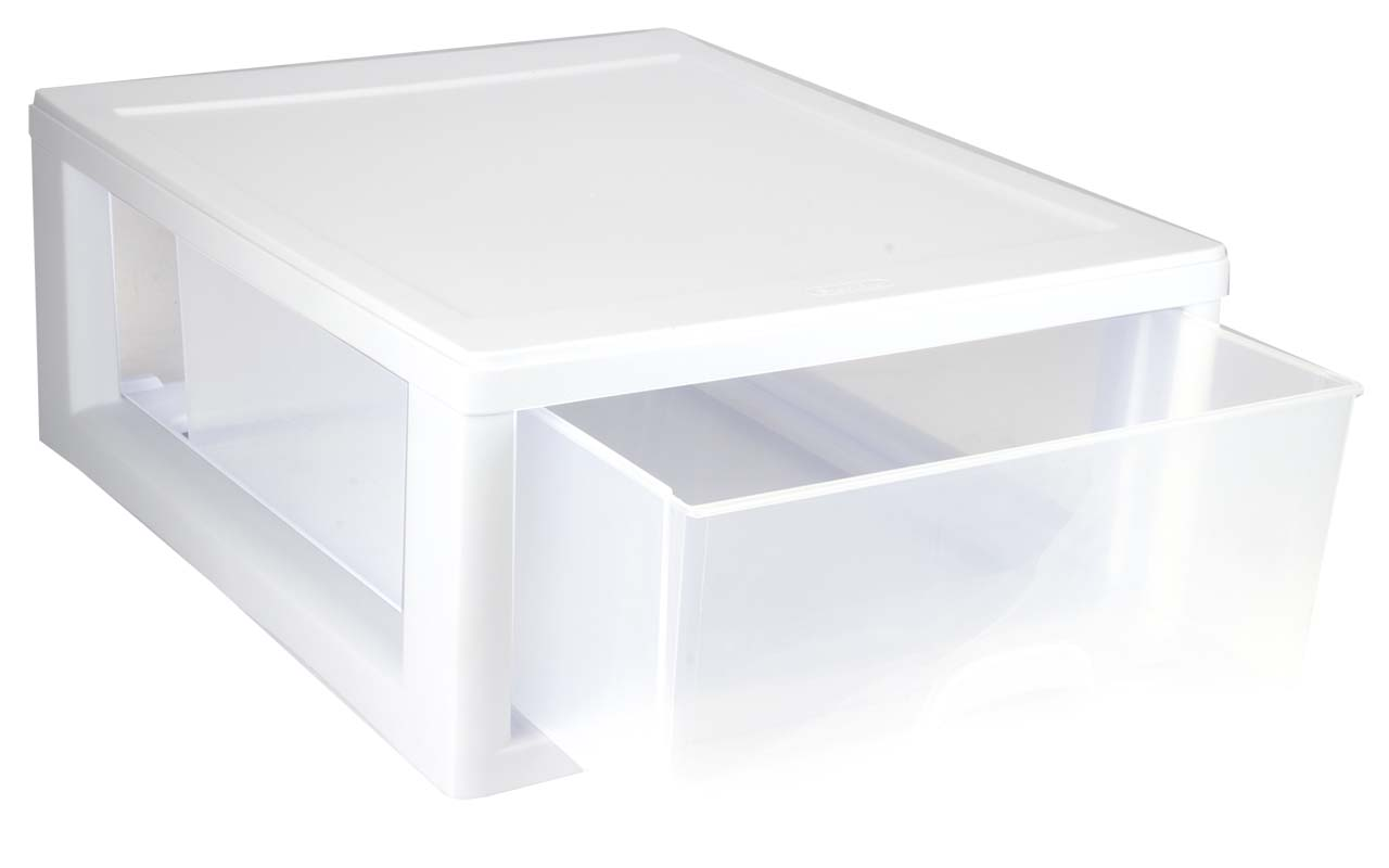 Sterilite 23018006 16-Quart Modular Stacking Storage Drawer Containers 6 Pack - Walmart.com  sc 1 st  Walmart & Sterilite 23018006 16-Quart Modular Stacking Storage Drawer ...