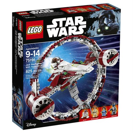 LEGO Star Wars Jedi Starfighter With Hyperdrive [75191 - 825 (Lego Star Wars Plo Koons Jedi Starfighter)