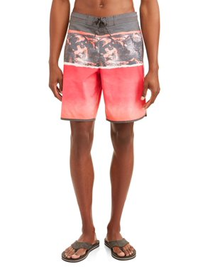 4e6fca60f8 Product Image George Men's Triblock Eboard 8-inch Swim Short with Dolphin  Hem, Up to size