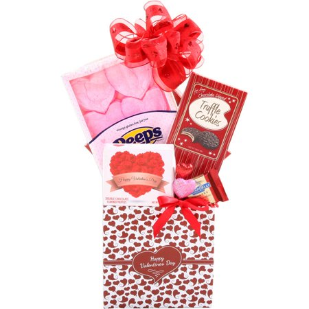 Alder Creek Sweets for My Valentine Gift Basket, 6 pc