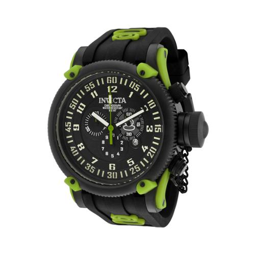 Invicta Russian Diver Silicone Chronograph Mens Watch 10183