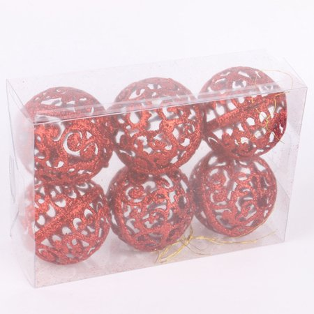 Christmas Tree Ball Decorating Hanging Ornament Decor Christmas Home Party Supplies ()