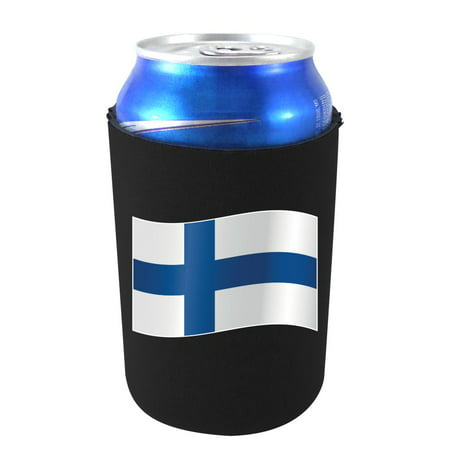 World Countries Flag Neoprene Collapsible Can Coolie (Finland Best Country In The World 2019)