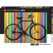Bike Art Freedom Deluxe 1000 Piece Puzzle,  Cycling by Autruche