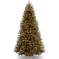 product image national tree pre lit 9 north valley spruce clear lights - Pre Lit Outdoor Christmas Tree