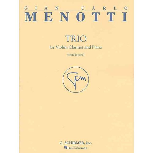 Trio for Violin, Clarinet and Piano