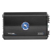 Planet Audio PL3000.1D Pulse 3000 Watt, 1 Ohm Stable Class D Monoblock Car Amplifier with Remote Subwoofer Control