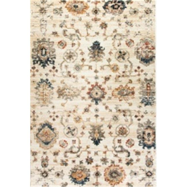 Dynamic Rugs EV244771100 Evolution Rugs, Ivory - 2 x 3.3 in. - image 1 of 1