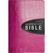 The Everyday Life Bible: Pink With Espresso Inset, Ampilified Version, Fashion Edition, The Power of God's Word for Everyday Living