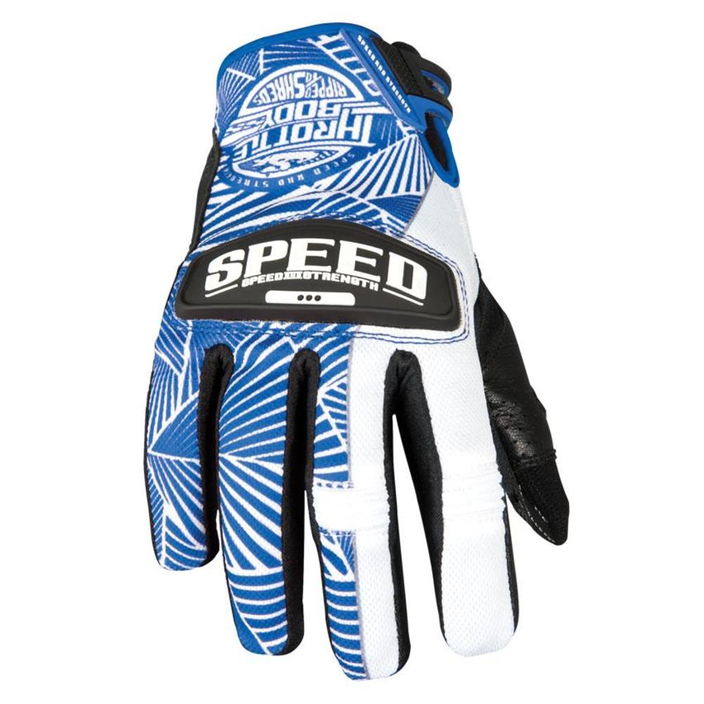 Speed & Strength Throttle Body Womens Leather and Mesh Gloves