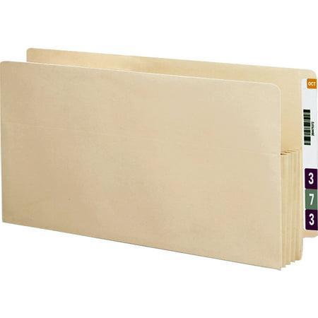 - Smead End Tab File Pocket, Reinforced Straight-Cut Tab, 3-1/2