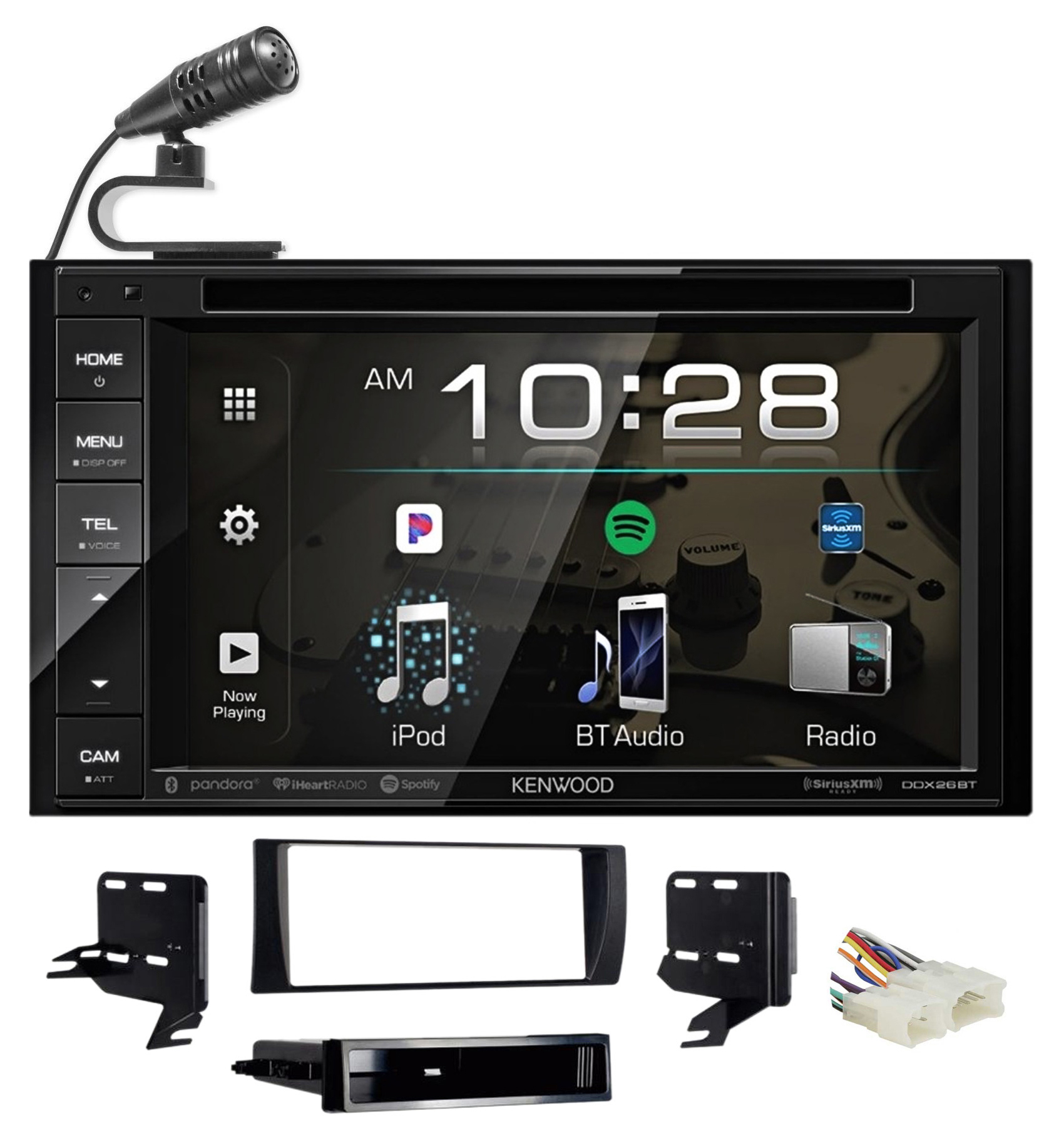 Kenwood DVD/iPhone/Bluetooth/Android Receiver Radio For 2002-2006 Toyota Camry