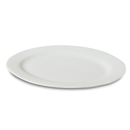 Honey Can Do Porcelain Oval Platter, 11 Inch By 15.5 Inch