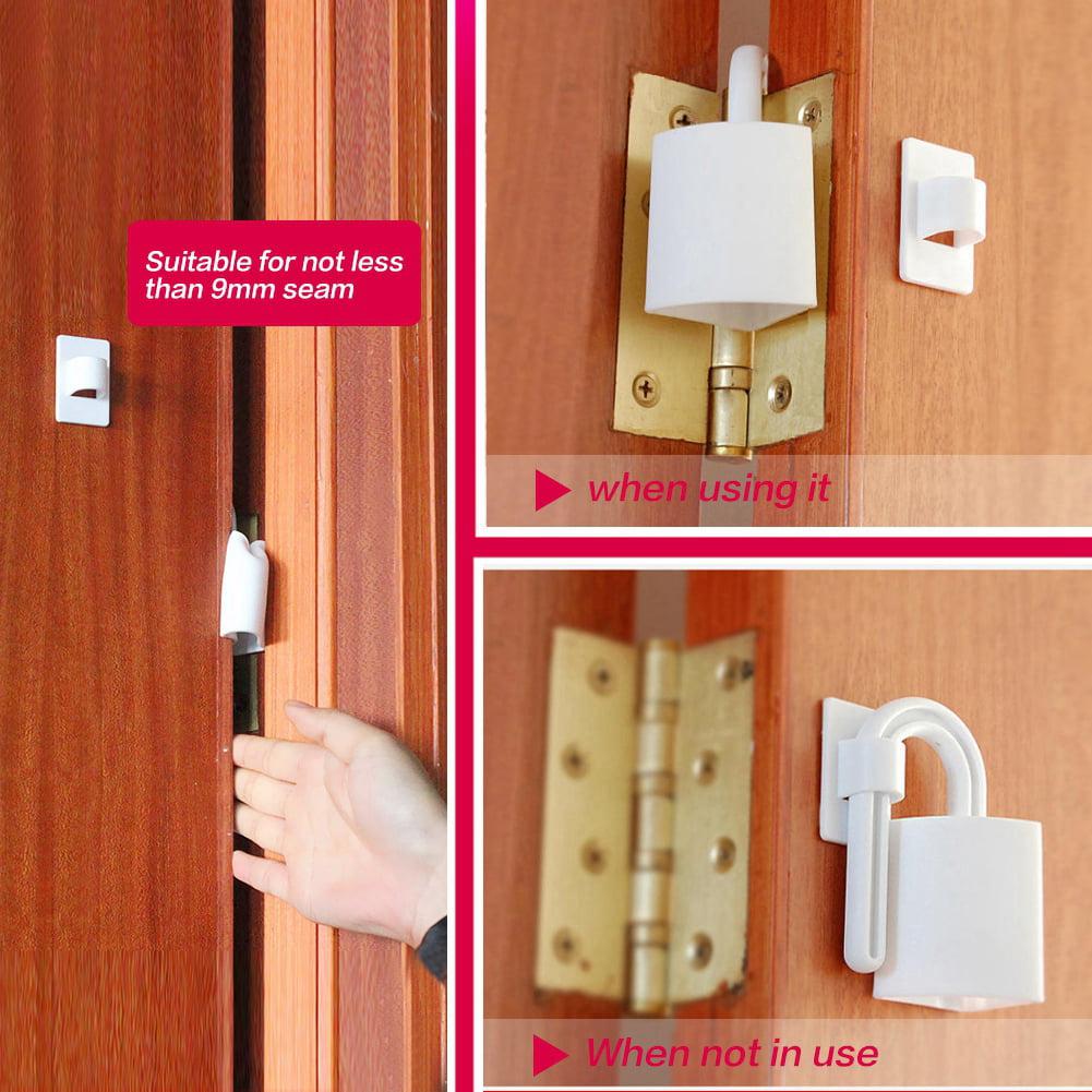 2Pcs Baby Kids Finger Protector Door Hinge Pinch Strip Guard Safety Toddler