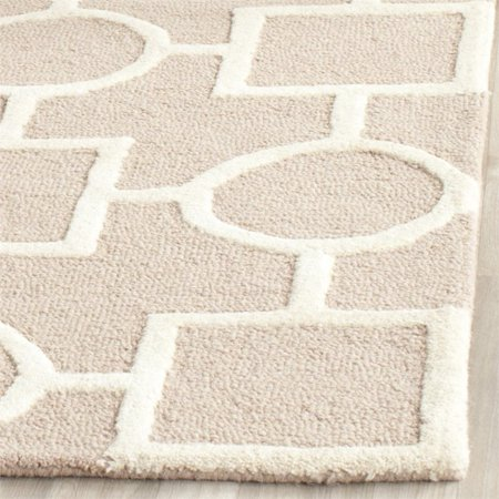 Safavieh Cambridge 8' Square Hand Tufted Wool Rug - image 1 of 3