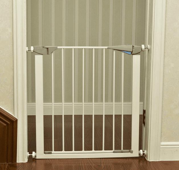 Carlson Lil Tuffy Baby Safety Gate Door Walk Through Child Toddler Pet Metal new