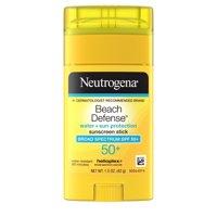 Neutrogena Beach Defense Oil-Free Body Sunscreen Stick SPF 50+, 1.5 oz