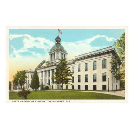 State Capitol, Tallahassee, Florida Print Wall Art - Party City In Tallahassee Florida