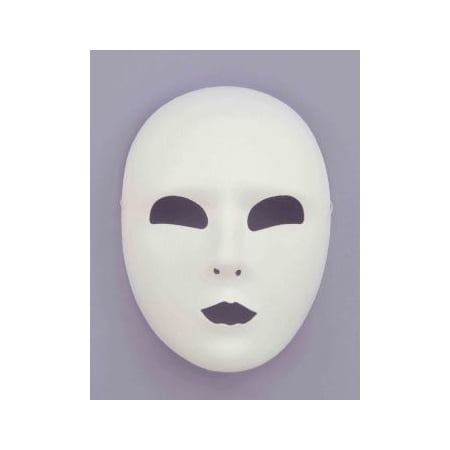 1/2 MASK-FULL FACE-WHITE