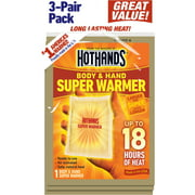 HotHands 18 Hour Super Warmer | 3 Unit Pack