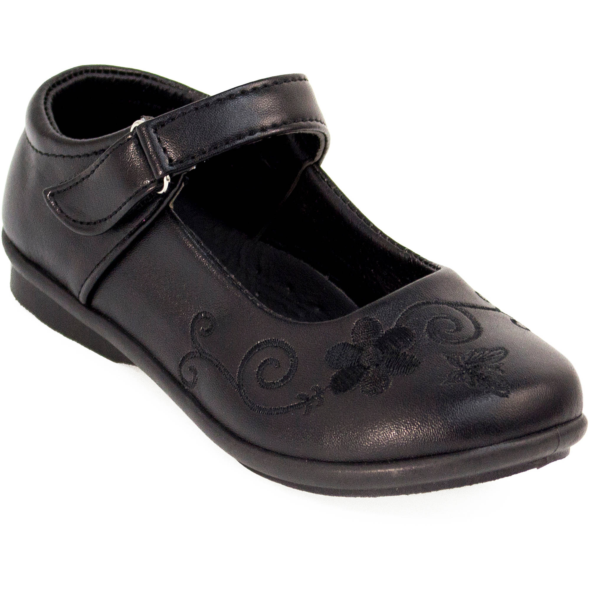 Petalia Girls' Mary Jane School Shoe