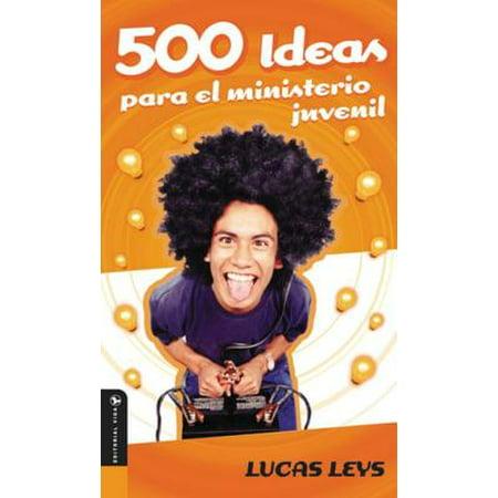 500 Ideas para el ministerio juvenil - eBook